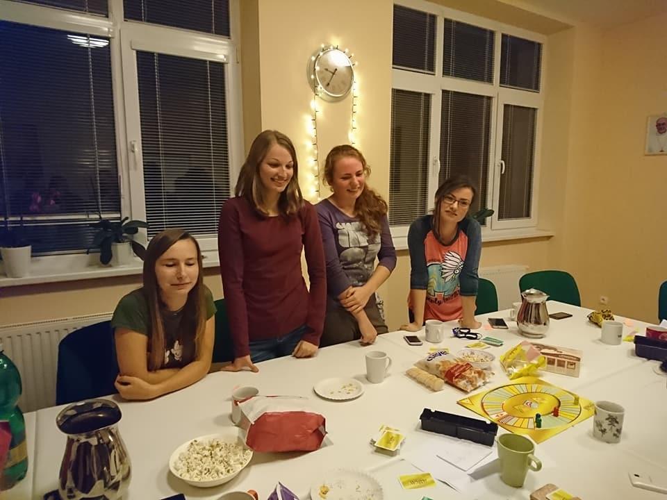 Spoločenský večer – privítanie nových študentiek